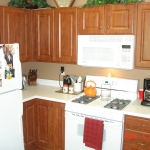 Dark Cherry Thermofoil Cabinets