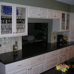 White Thermofoil Kitchen