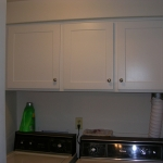White Duraline Laundry Room