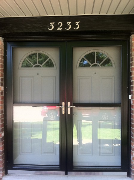 Entrance and storm door
