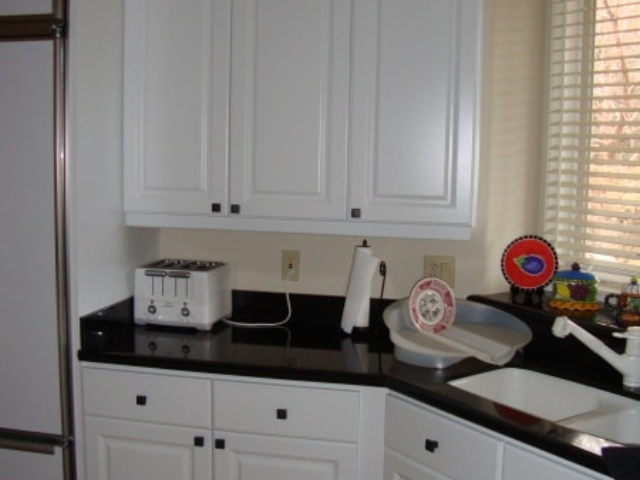 White Duraline Kitchen
