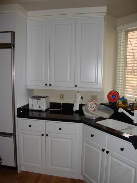 White Duraline Kitchen