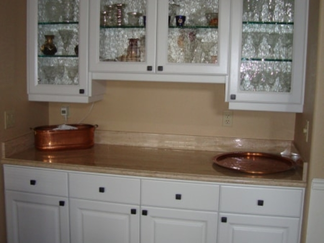 White Thermofoil Kitchen