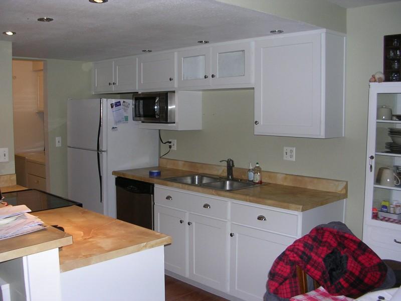 White Duraline Cabinets
